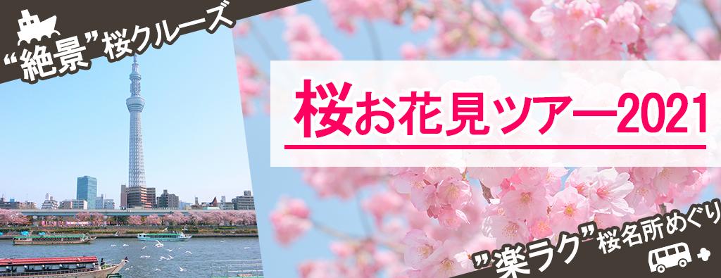 桜・お花見ツアー
